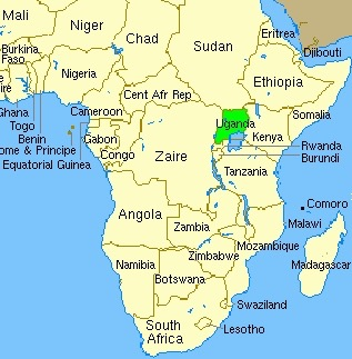 Clear Africa Map | Jackenjuul